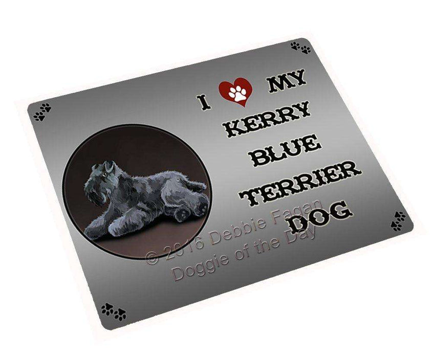 "I Love My Kerry Blue Terrier Dog Magnet Mini (3.5"" x 2"")"