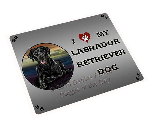 "I Love My Labrador Retriever Dog Magnet Mini (3.5"" x 2"")"