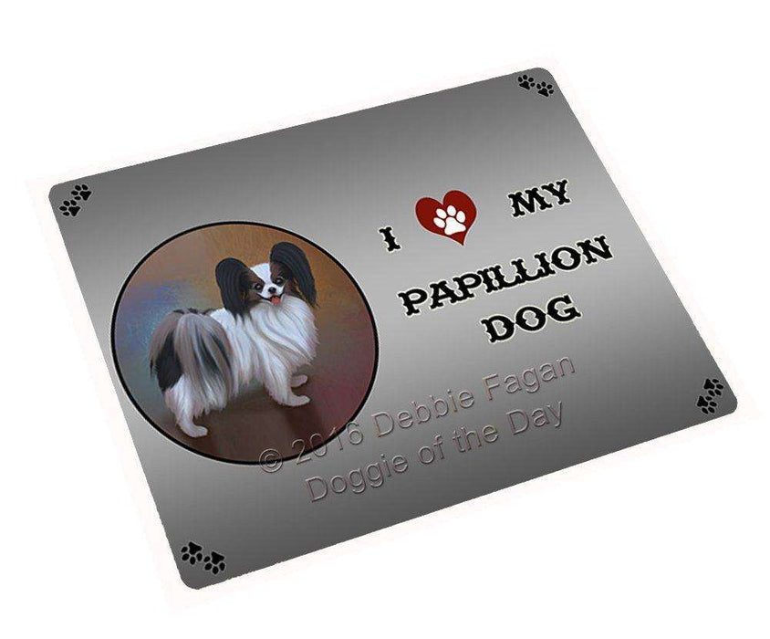 "I Love My Papillion Dog Magnet Mini (3.5"" x 2"") (Mini 3.5"" x 2"")"