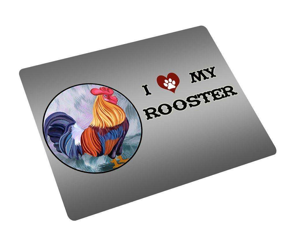 I love My Rooster Tempered Cutting Board