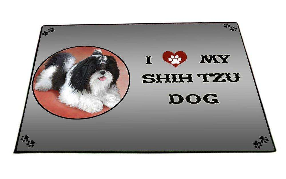 I love My Shih Tzu Dog Indoor/Outdoor Floormat