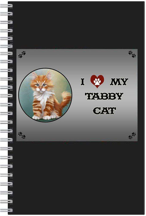 I love My Tabby Cat Notebook