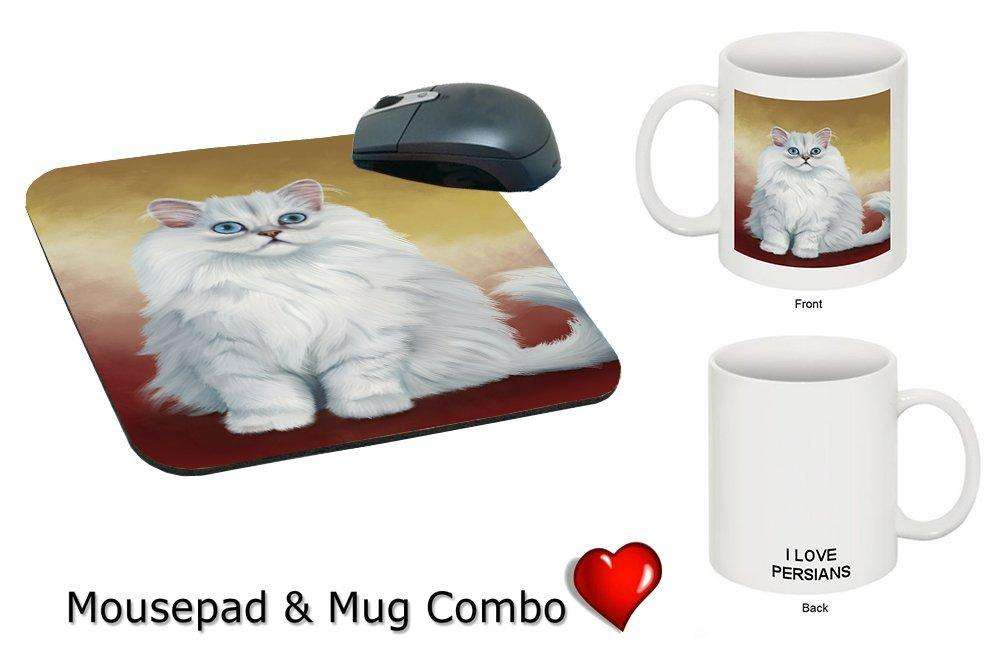 I love Persian Cat Mug & Mousepad Combo Gift Set MMCG0446