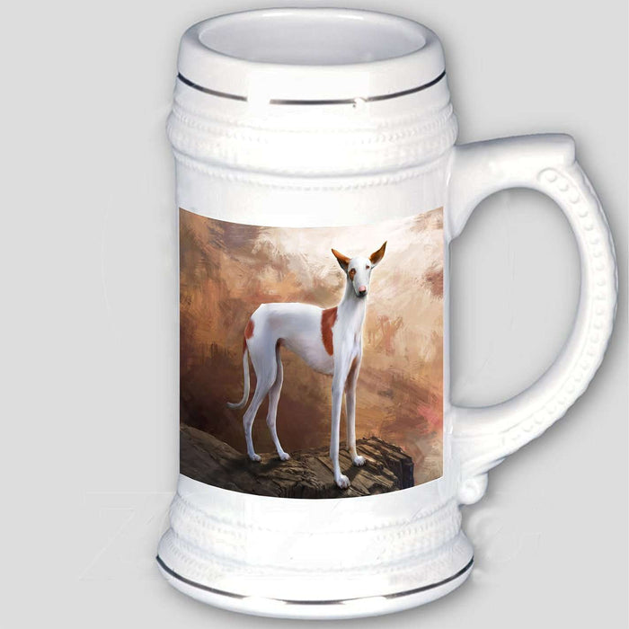 Ibizan Dog Beer Stein