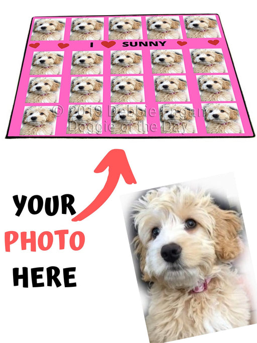 Custom Add Your Photo Here PET Dog Cat Photos on Floormat