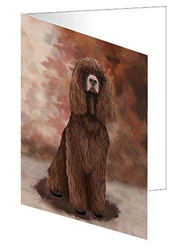 Irish Water Spaniel Dog Note Card