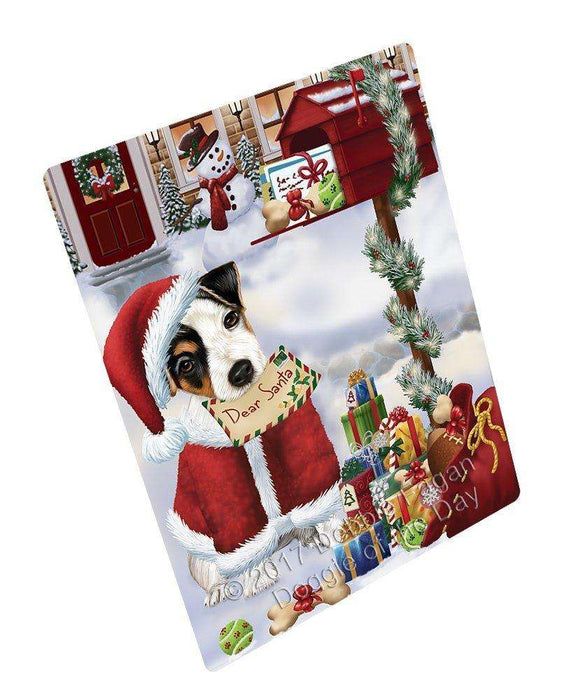 Jack Russell Dear Santa Letter Christmas Holiday Mailbox Dog Magnet