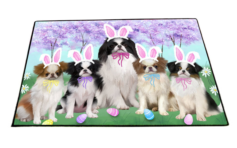 Japanese Chin Dog Easter Holiday Floormat FLMS495FB