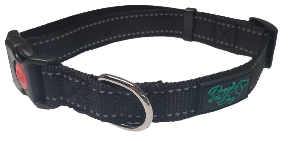 Wholesale 10 Pack Reflective Nylon Buckle Dog Collar- We Donate to Rescues for Each Collar Purchased