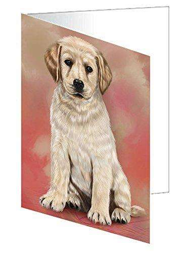 Labrador Puppy Dog Note Card