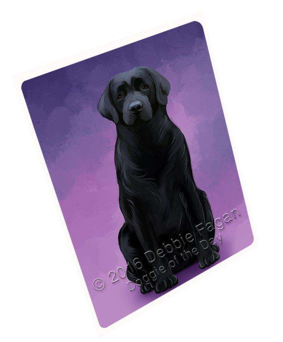 Labrador Retrievers Dog Art Portrait Print Woven Throw Sherpa Plush Fleece Blanket D171