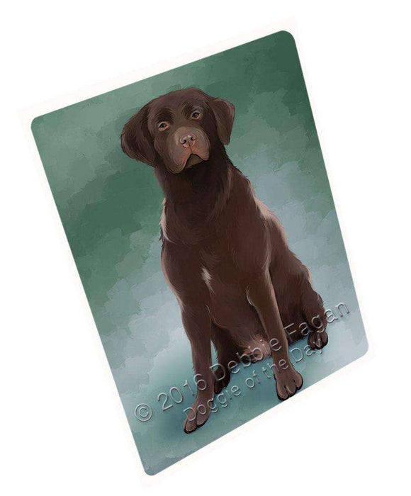 Labrador Retrievers Dog Large Refrigerator / Dishwasher Magnet D169