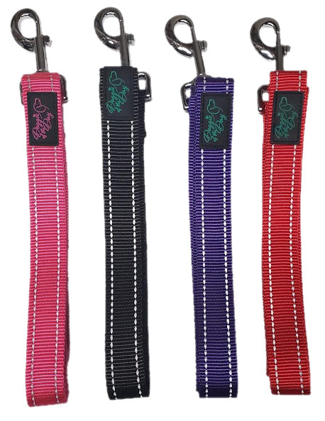 Reflective Nylon Buckle Dog Leash - We Donate to Rescues For Each Leash Purchased