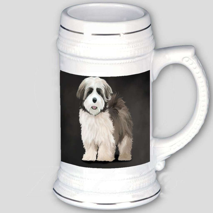 Lhasa Apso Dog Beer Stein