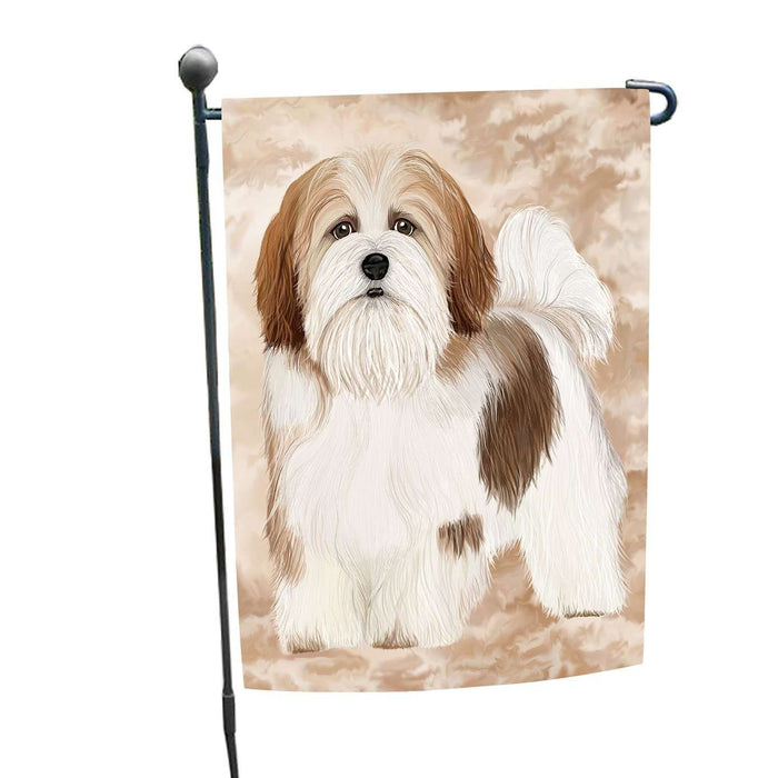 Lhasa Apso Dog Garden Flag