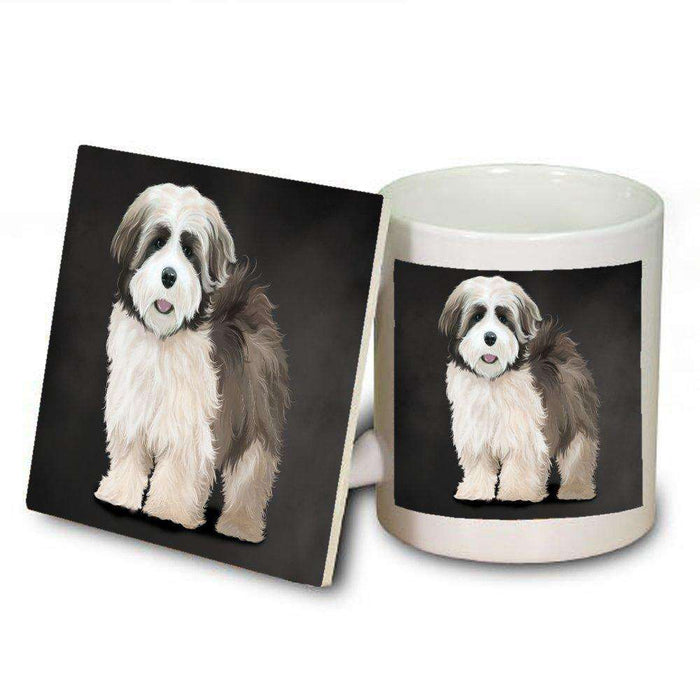 Lhasa Apso Dog Mug and Coaster Set