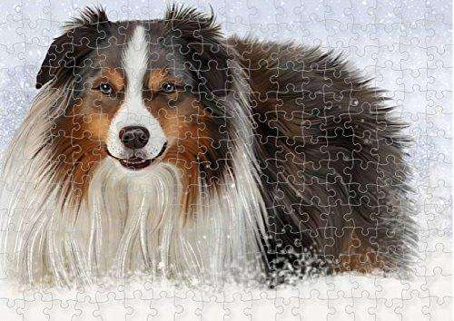 Madison Dog Puzzle with Photo Tin