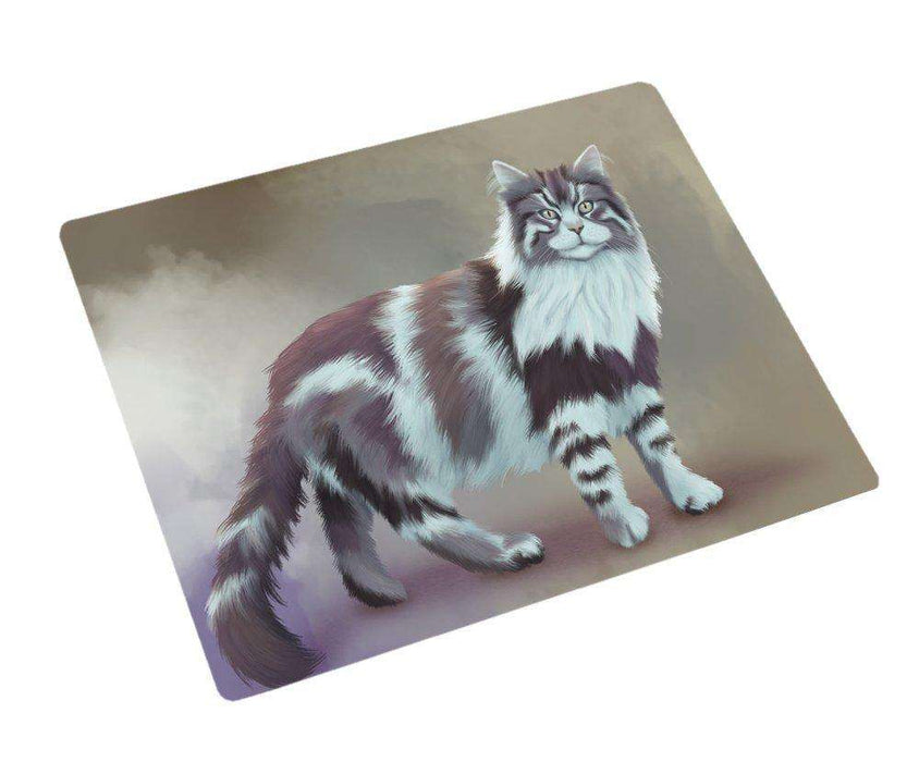 "Maine Coon Cat Magnet Mini (3.5"" x 2"")"
