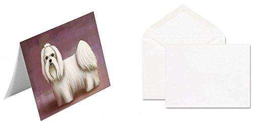 Maltese Dog Greeting Card