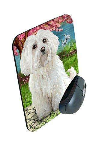 Maltese Dog Mousepad
