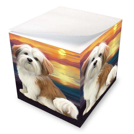Malti Tzu Dog Note Cube NOC48505
