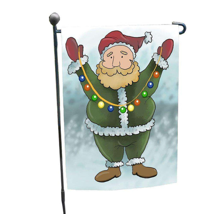 Merry Christmas Happy Holiday Garden Flag