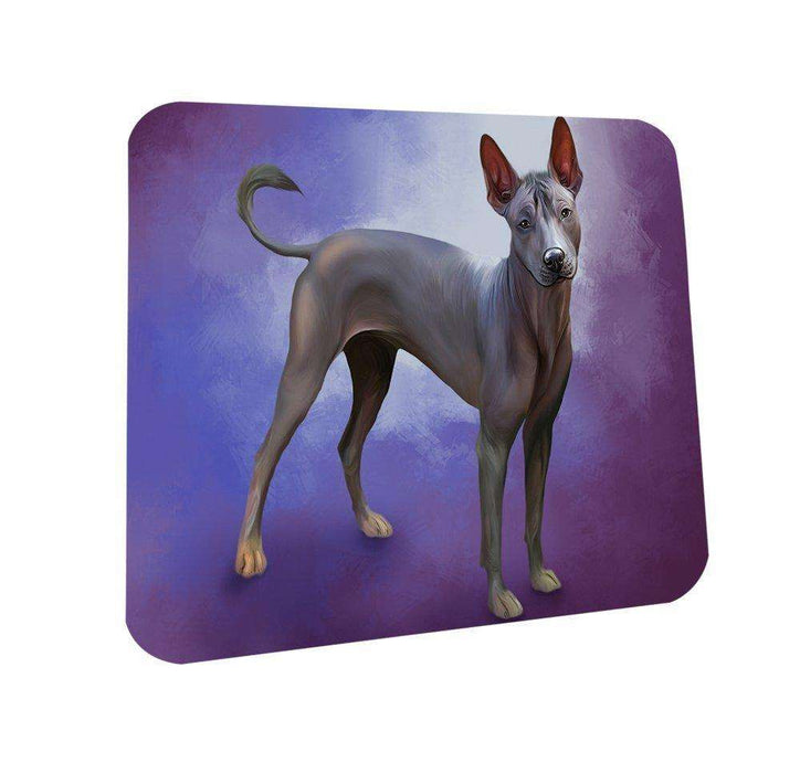 Mexican Hairless Dog Coasters Set of 4