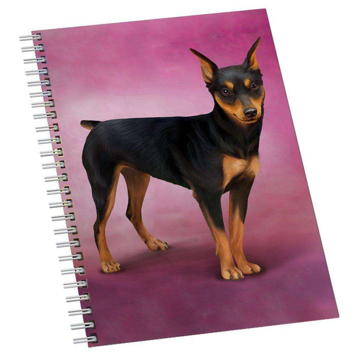 Miniature Pinschers Dog Notebook