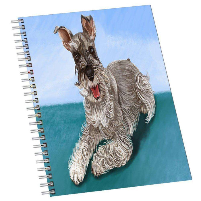 Miniature Schnauzer Dog Notebook