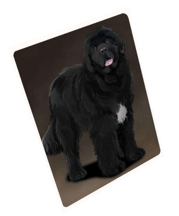 "Newfoundland Black Dog Magnet Small (5.5"" x 4.25"")"