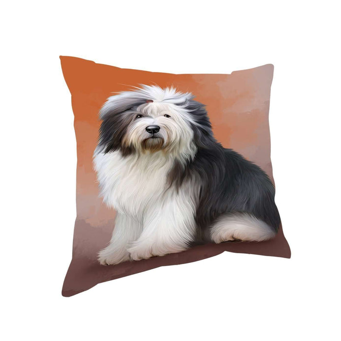 Old English Sheepdogs Dog Throw Pillow D353