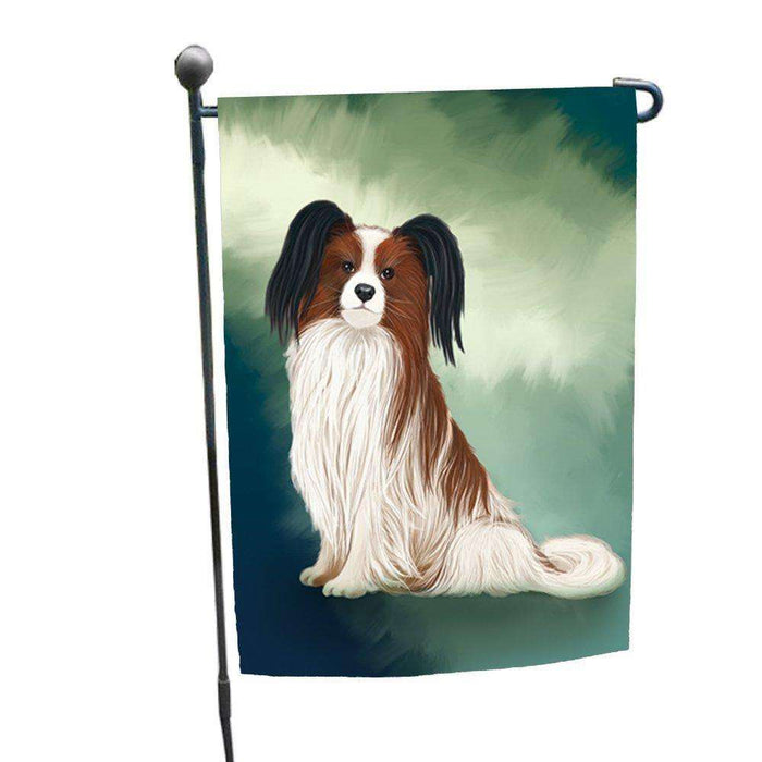 Papillion Dog Garden Flag GFLG48004