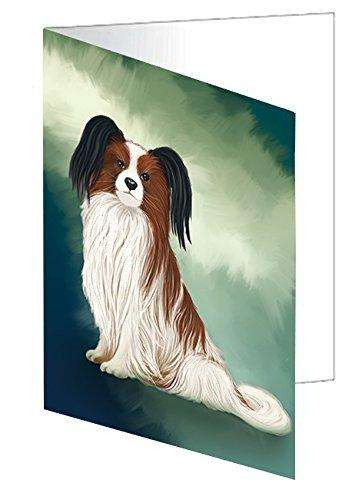 Papillion Dog Note Card