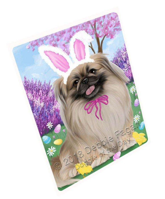 "Pekingese Dog Easter Holiday Magnet Mini (3.5"" x 2"") MAG51852"