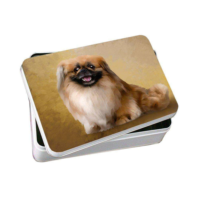 Pekingese Dog Photo Storage Tin PITN48016
