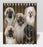 Rustic Pekingese Dogs Shower Curtain