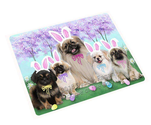"Pekingeses Dog Easter Holiday Magnet Mini (3.5"" x 2"") MAG51855"