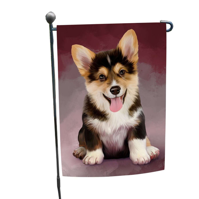 Pembroke Welsh Corgi Dog Garden Flag
