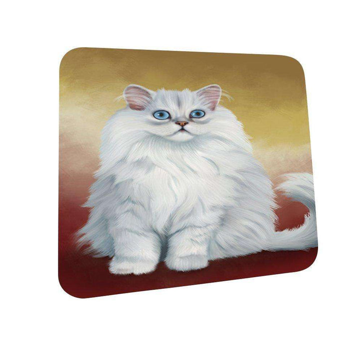 Persian Cat Coasters Set of 4