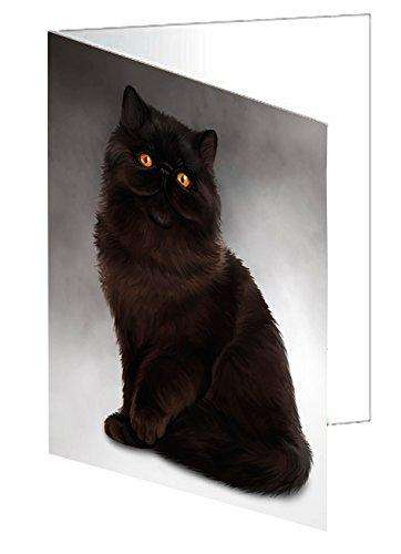 Persian Cat Greeting Card D038