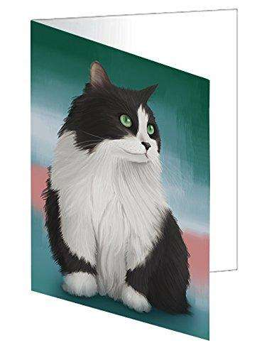 Persian Cat Greeting Card GCD48093