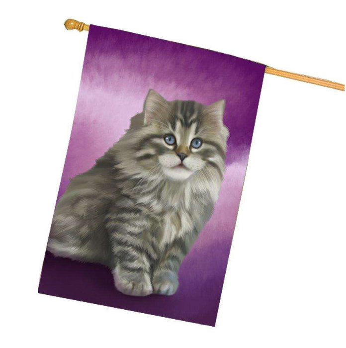 Persian Cat House Flag FLGA48022