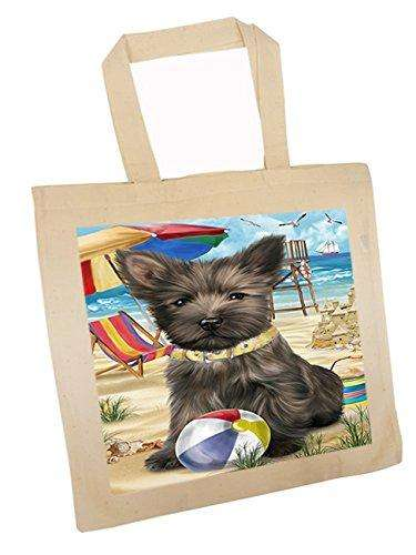 Pet Friendly Beach Cairn Terrier Dog Tote TTE48629