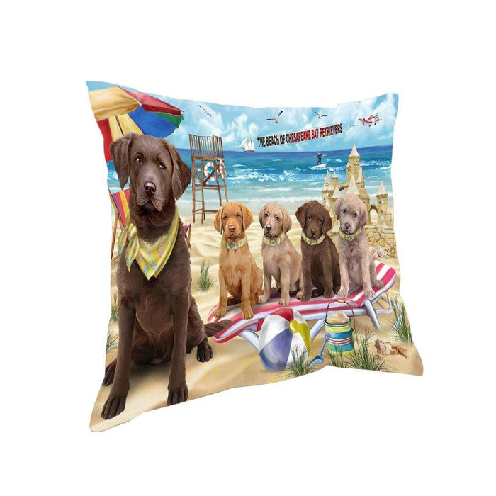 Pet Friendly Beach Chesapeake Bay Retrievers Dog Pillow PIL55944