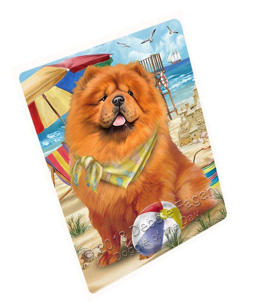 Pet Friendly Beach Chow Chow Dog Cutting Board C53955