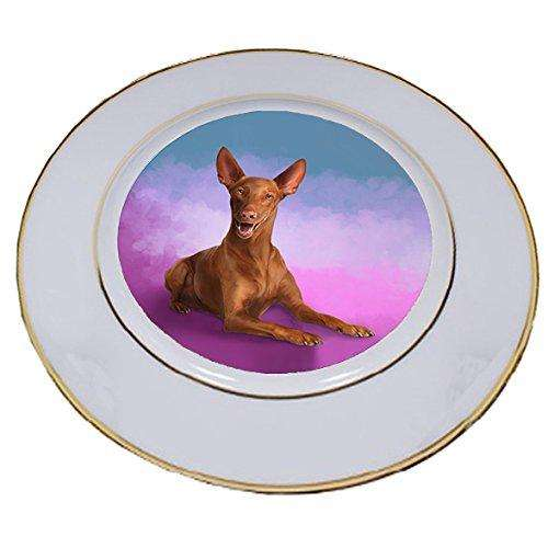 Pharaoh Dog Porcelain Plate PLT48035