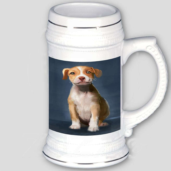 Pit Bull Dog Beer Stein