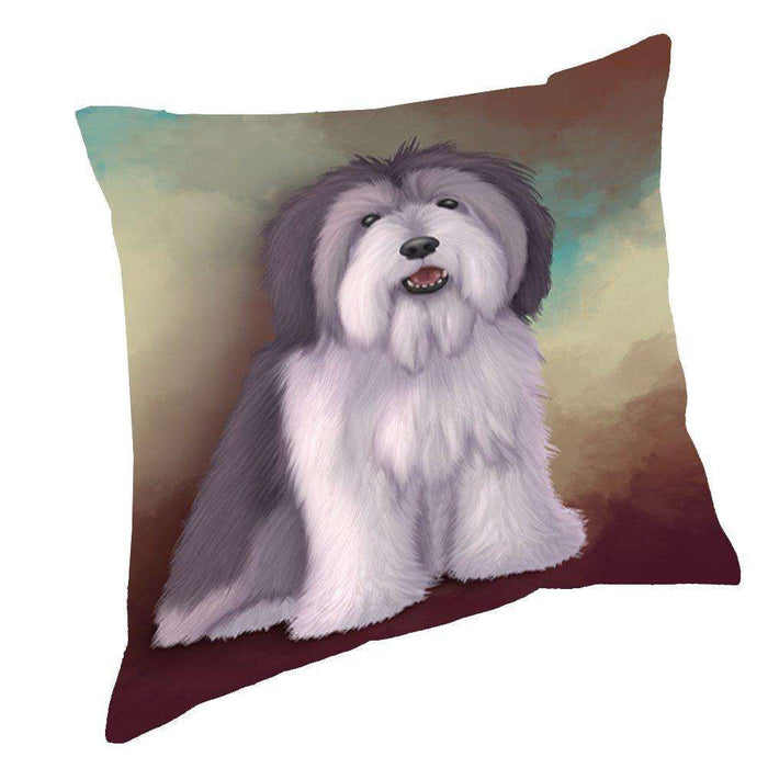 Polish Lowland Sheepdog Pillow PIL48180