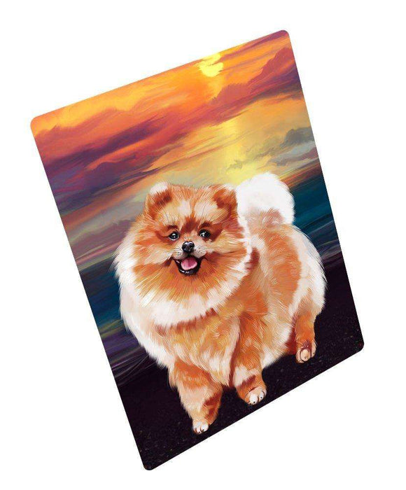 "Pomeranian Dog Magnet Mini (3.5"" x 2"")"