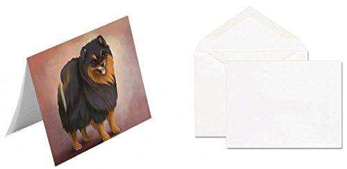 Pomeranian Spitz Dog Greeting Card